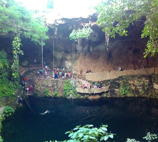 Cenote Ik Kil Mexico